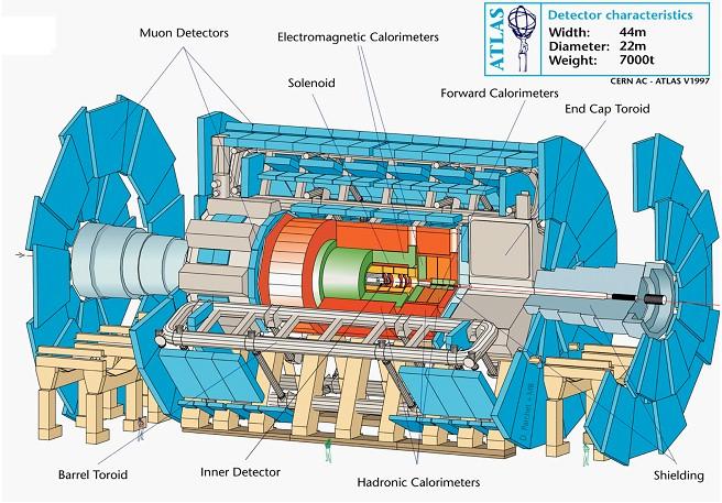 Детектор ATLAS Большого